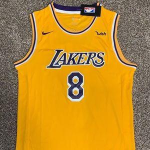 Kobe Bryant 18-19 Los Angeles Lakers Gold 8 Jersey